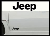 JEEP CAR BODY DECALS